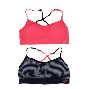 XOXO Girls 2 Pack Bralette by Size M(32) Removable